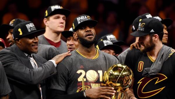 'El Rey' consiguió el primer campeonato para los Cavaliers de Cleveland en 52 años.