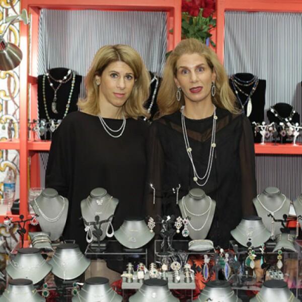 Vivianne Sundel y Jessica Mussali