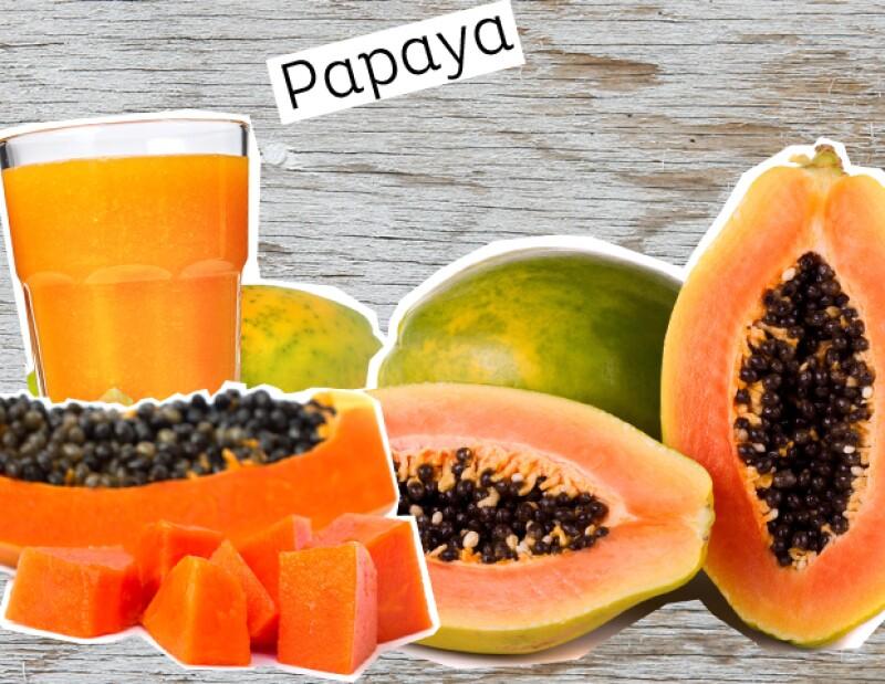Papaya para reafirmar la piel.