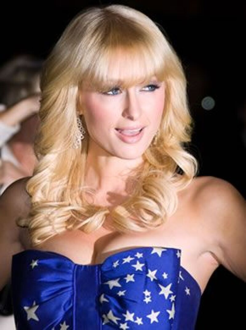 La famosa heredera afirmó que su inspiración fue el estilo de Kylie Minogue.
