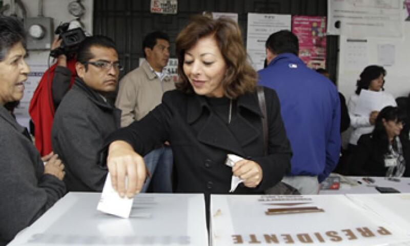 79 millones 454,802 ciudadanos podrán votar en estas elecciones, según el Instituto Federal Electoral. (Foto: AP)