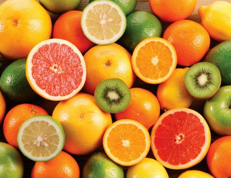 Encuéntrala en cítricos llenos de antioxidantes.