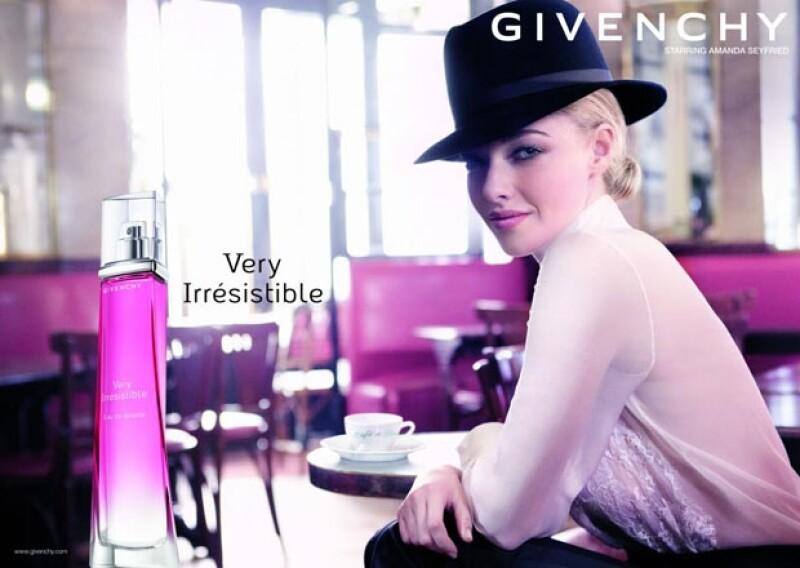 """La actriz será la imagen del perfume """"Very Irrésistible"""" de la marca y dijo estar feliz de participar en la campaña, ya que esto representa para ella tener un pie dentro de la industria de la moda."""