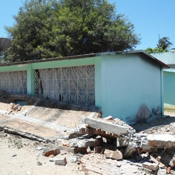 Un sismo derrumba edificios en Guerrero