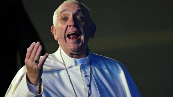 Francisco reaccionó emocionado a su llegada a territorio nacional, en donde estará hasta el 17 de febrero.