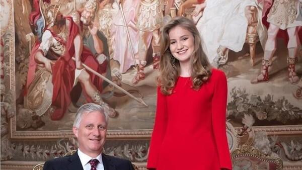 Elisabeth de Bélgica y el rey Felipe I