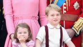 Princesa Charlotte y principe George.