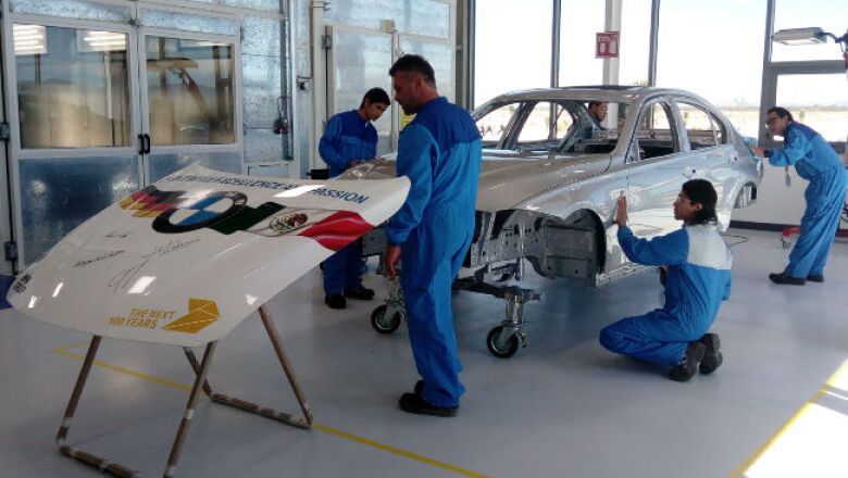 Centro de Entrenamiento de BMW 5