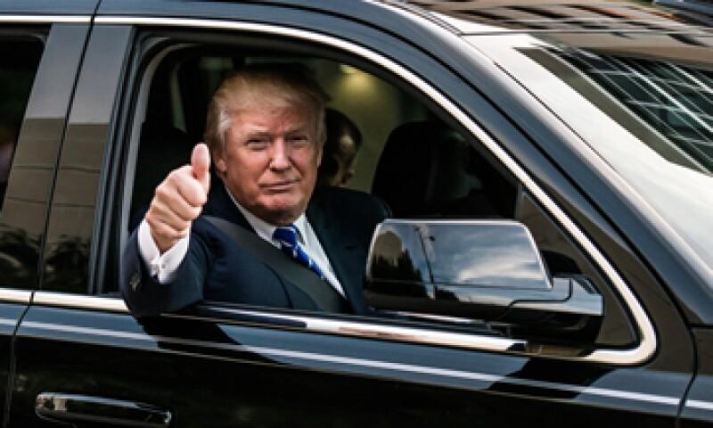 Trump es el precandidato republicano a la presidencia de EU que encabeza las encuestas de preferencia. .   (Foto: Getty Images/Archivo )