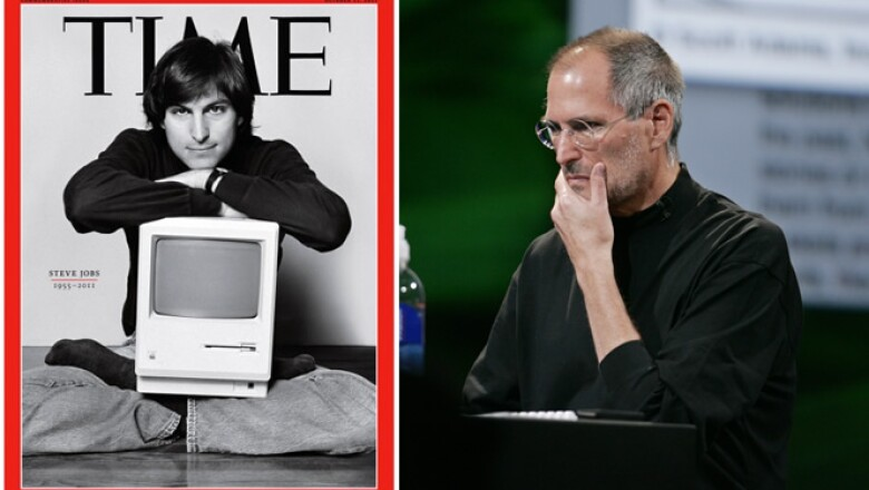 Jobs apareció en unas 100 portadas de revistas y se escribieron muchos libros sobre él, aparte de una obra teatral, una película y hasta un episodio de la serie animada South Park.