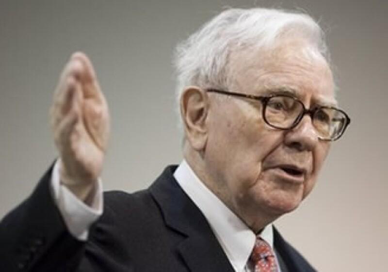Warren Buffett apostó por Goldman Sachs y ganó.  (Foto: Archivo AP)