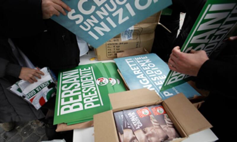 El resultado de las elecciones en Italia repercutió en los mercados. (Foto: AP)