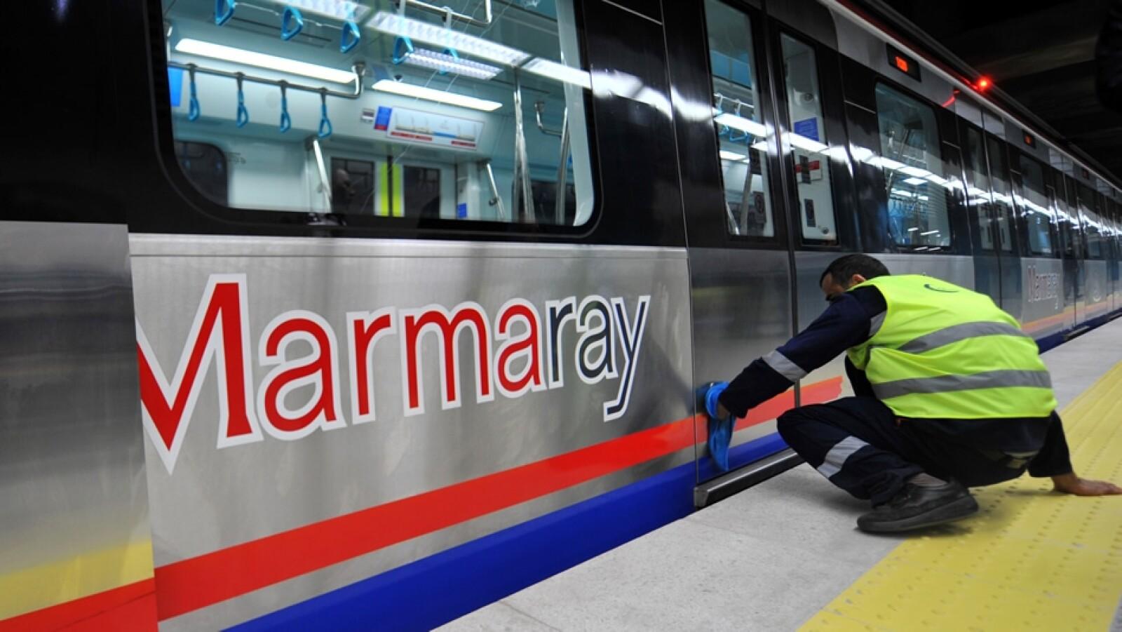 Marmaray tren Turquía 11