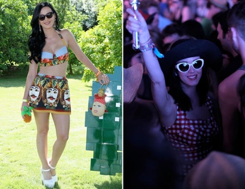 Katy Perry es una de las celebs más asiduas a Coachella. ¿La veremos este año?