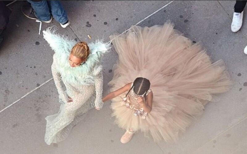 No era cualquier vestido, era un diseño infantil haute couture Mischka Aoki.
