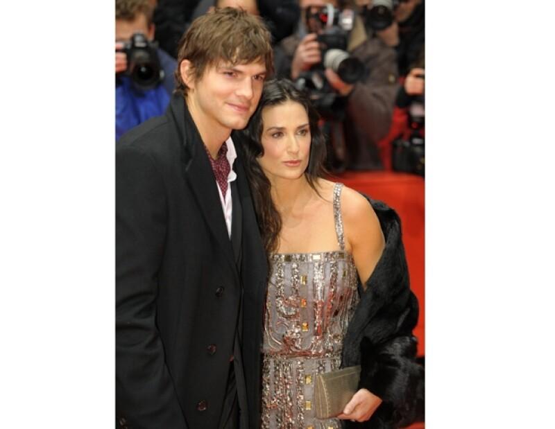 La protagonista de 'Ghost' sostuvo un matrimonio de 6 años con el joven actor.