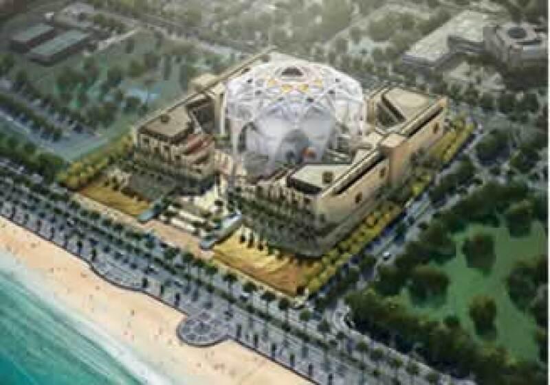En el complejo se llevarán a cabo las actividades del Consejo Nacional Federal y del Parlamento de los Emiratos Árabes. (Foto: Cortesía Erlich Architects.)