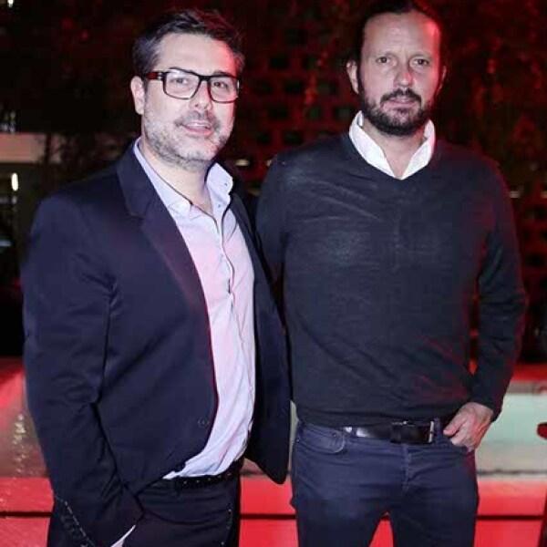 Javier Angúlo y Eduardo Prieto