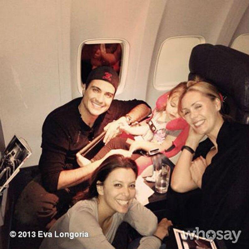 Eva mantiene una gran amistad con Jaime y su familia.