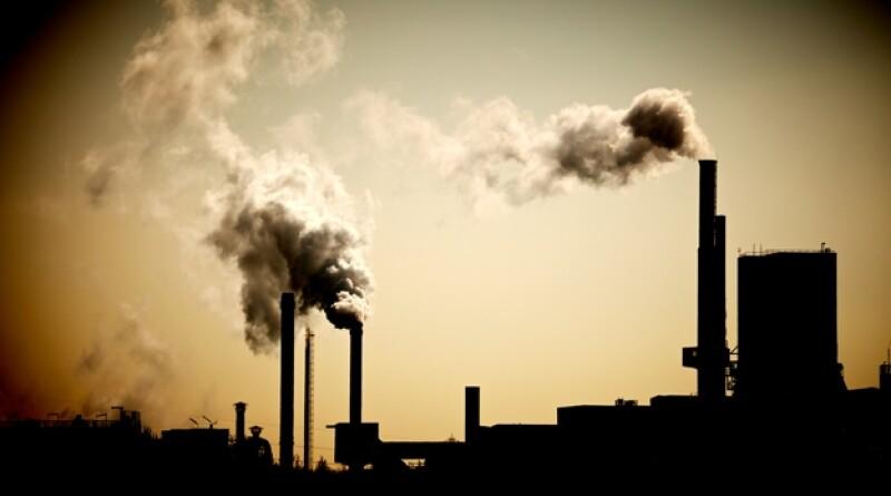 contaminación industria gases