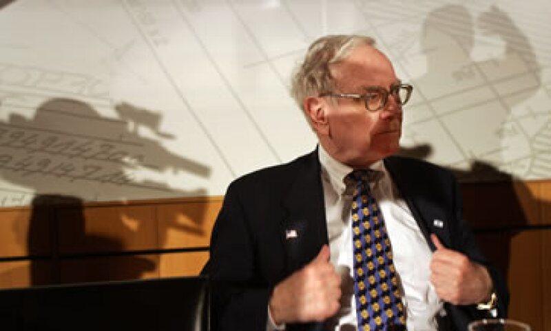 Es bien conocida la afición a la carne roja de Buffett, hombre de 80 años y considerado uno de los más ricos del mundo. (Foto: AP)