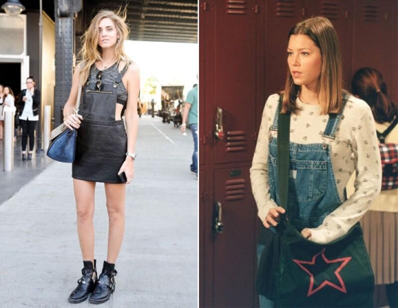 ¿Se acuerdan de los overalls que usaba Jessica Biel en 7th Heaven?