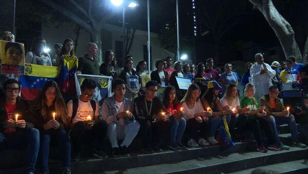 manifestaciones jovenes venezuela