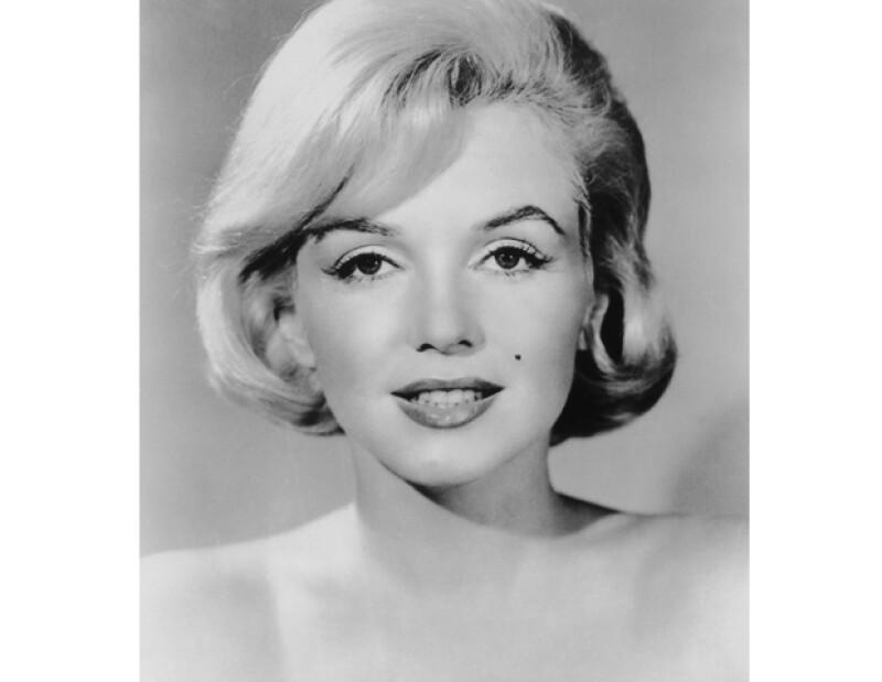 La actriz en enero de 1958.