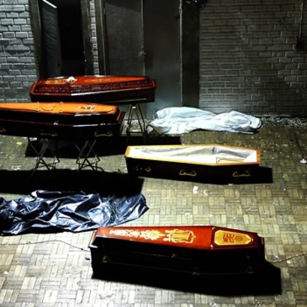 Identificacion cadaveres Brasil