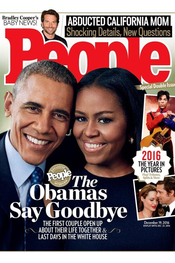 Los Obama en la revista People.