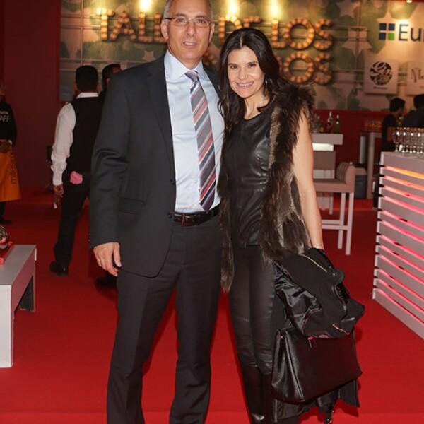 Javier Mata y Sandra Fernández