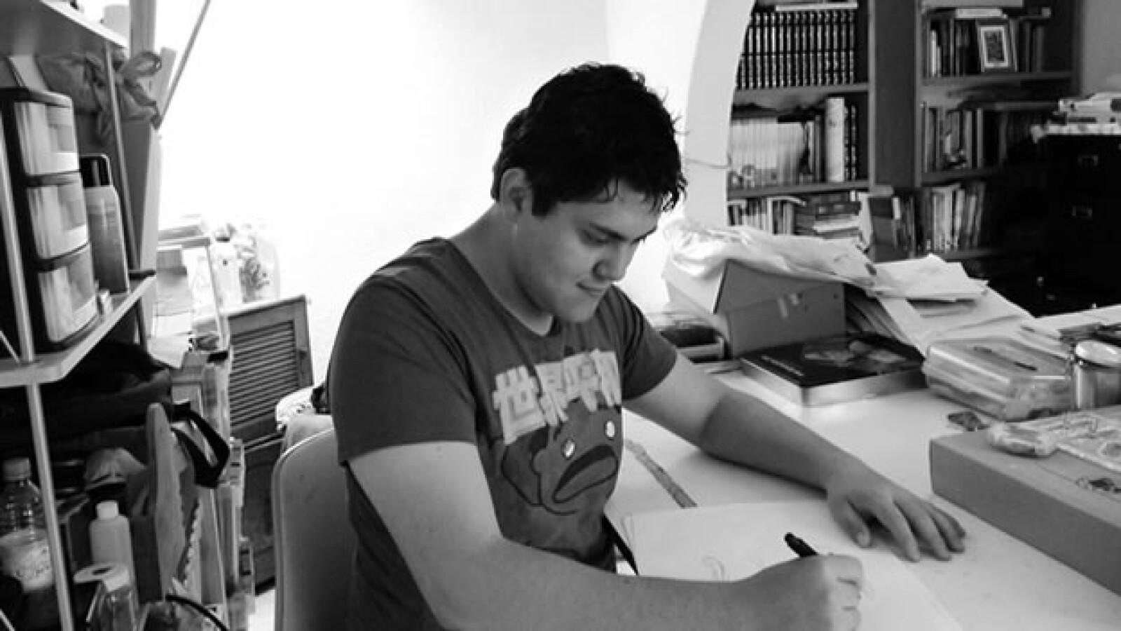 Jose Gilberto Gonzalez Mendez, ganador del premio braun 2012
