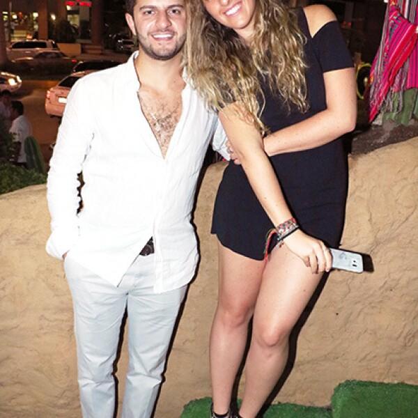 Antonio Harfuch y Elisa Mizrahi
