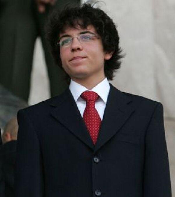 El joven de 15 años es el mayor de cuatro hijos de los reyes de Jordania.