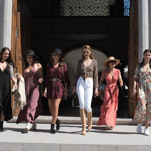 Lourdes Motta, Keyla Caputo, Gaby Graf, Ari Barrios, Gina Ortega y Barba Lopez.jpg
