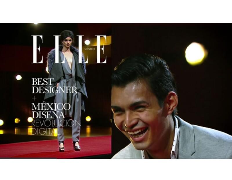 Con mucha seguridad, Fernando nos contó que volverá a participar en México Diseña.