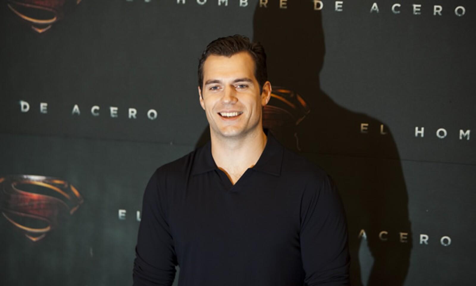 Antes de su estreno mundial, el próximo 14 de junio, Cavill se reunió con medios de comunicación en México.