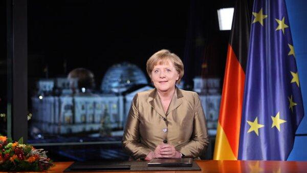 Angela Merkel, canciller alemán