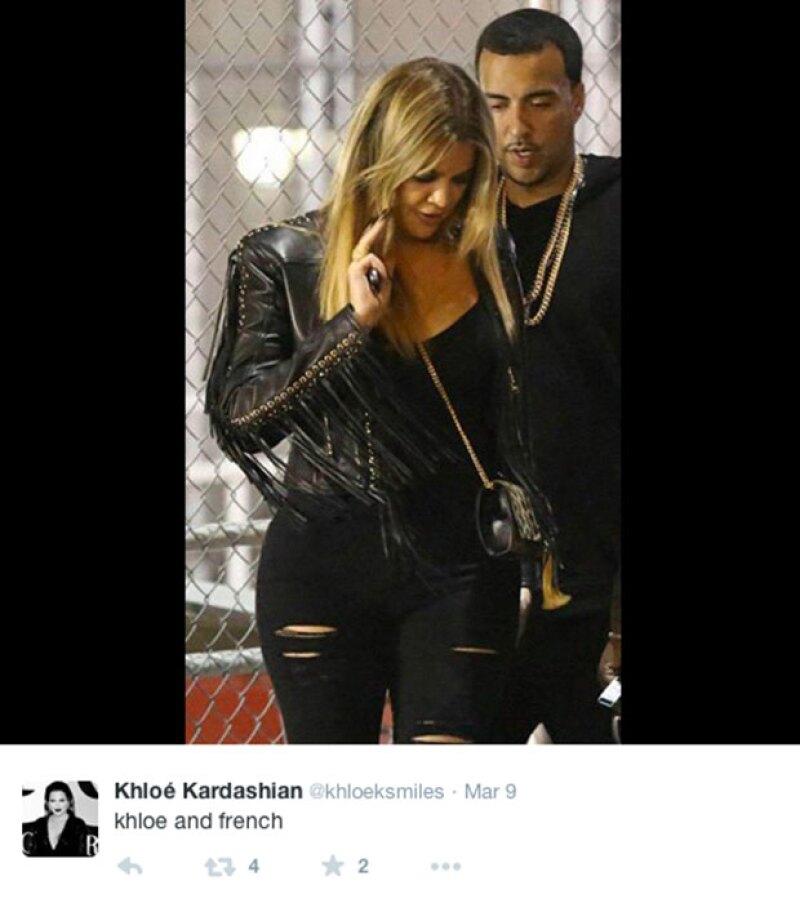 Khloé aún sale con French Montana.