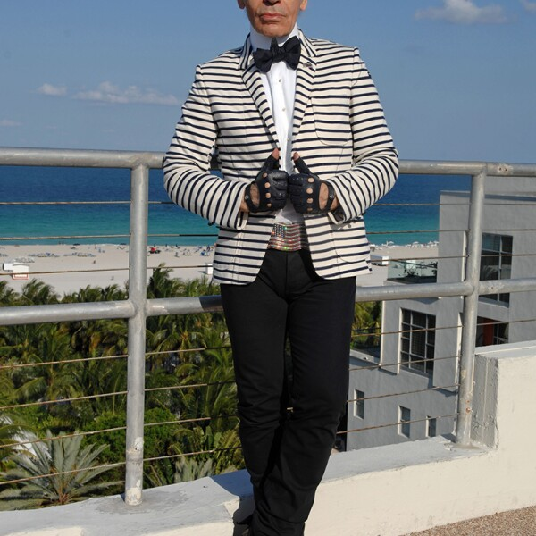 Karl Lagerfeld, Miami