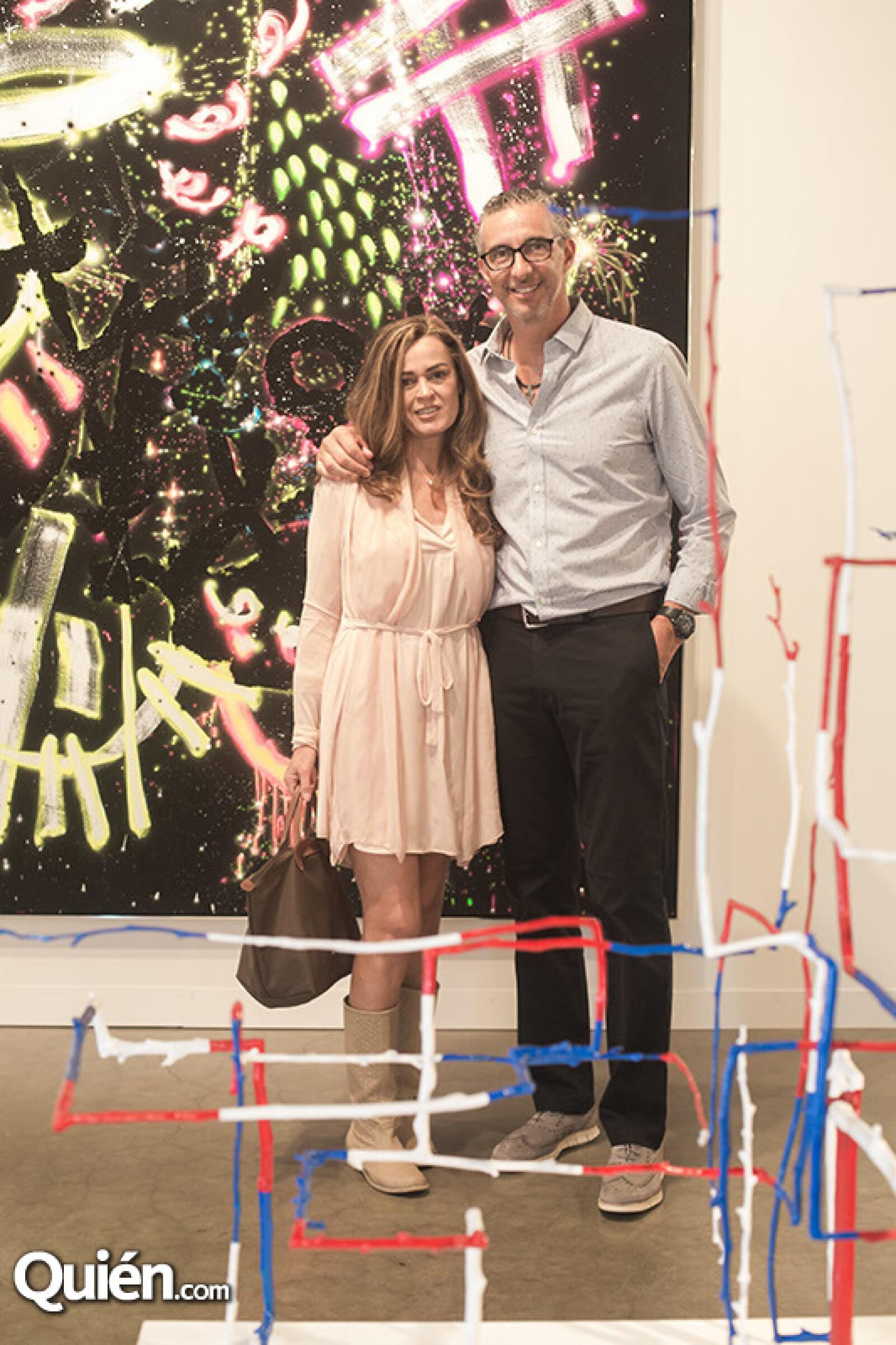 Laura Sainz de Villareal y Alejandro Vilareal