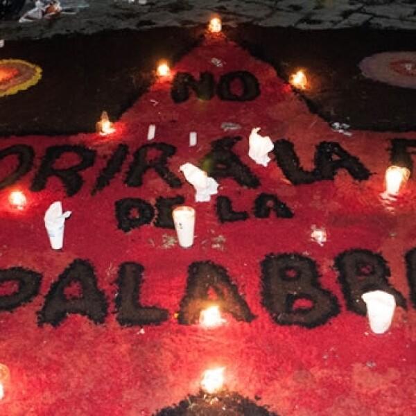 La UNAM recibe las ofrendas de muertos