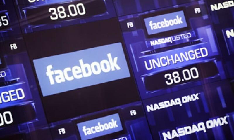 Facebook empezó a cotizar en el Nasdaq el 18 de mayo de 2012. (Foto: Reuters)