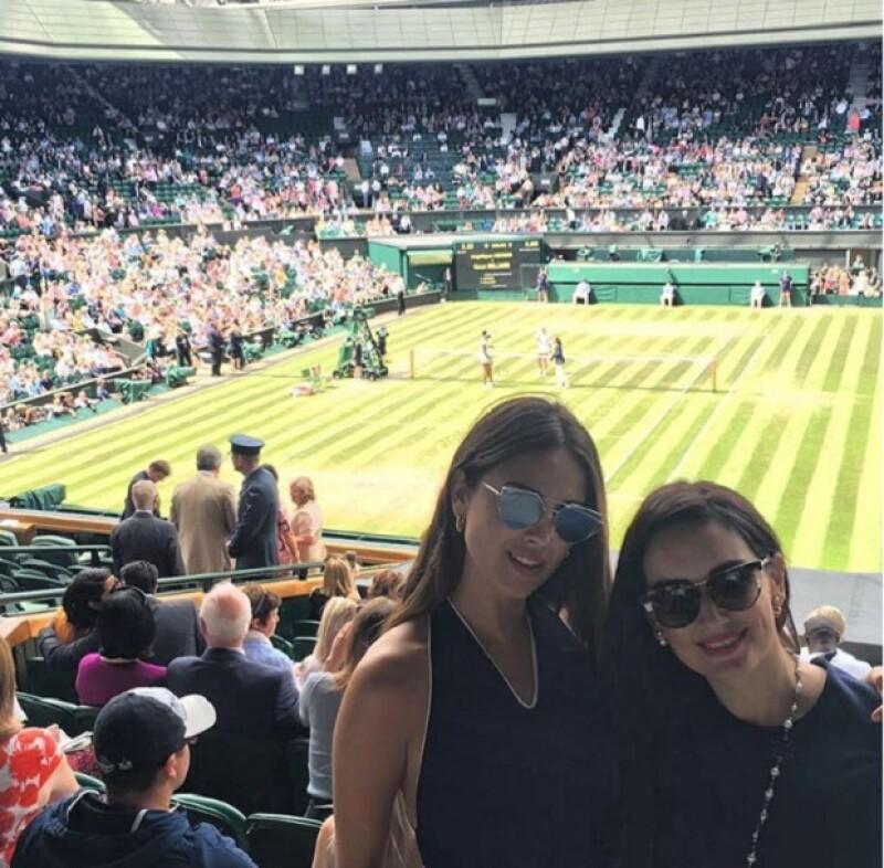 De lo más sexys, Ana y Eiza presumieron su estancia en Wimbledon
