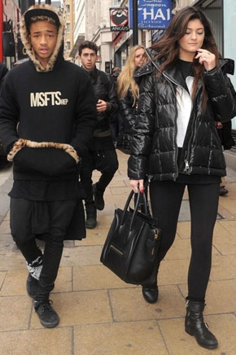 Aunque el hijo de Will Smith no especificó si efectivamente anda con la menor del clan Kardashian-Jenner, sí habló muy bien de ella y de todo lo que ha hecho por él.