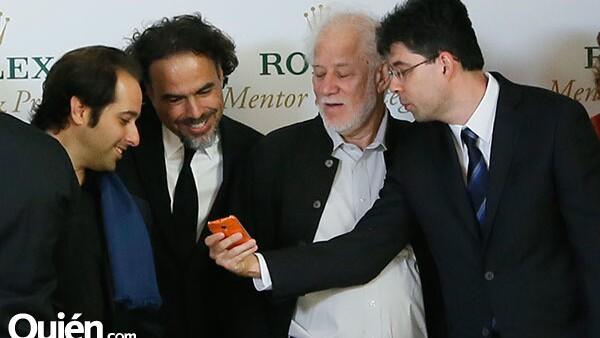 Tom Shoval,Alejandro González Iñárritu,Michael Ondaatje y Miroslav Penkov
