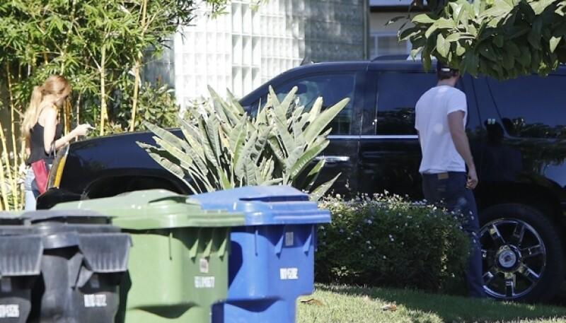 Eiza González y Liam Hemsworth ahora captados juntos en Los Ángeles.