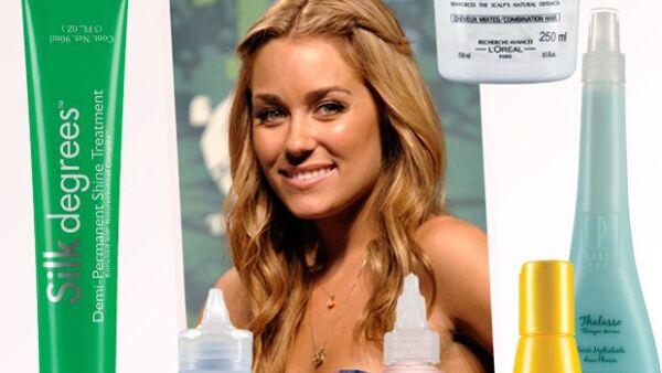 ¿Quién no querría una melena tan saludable como la de Lauren Conrad? La estrella de The Hills la cuida con productos que reparan el maltrato para que las puntas recuperen su brillo y densidad.