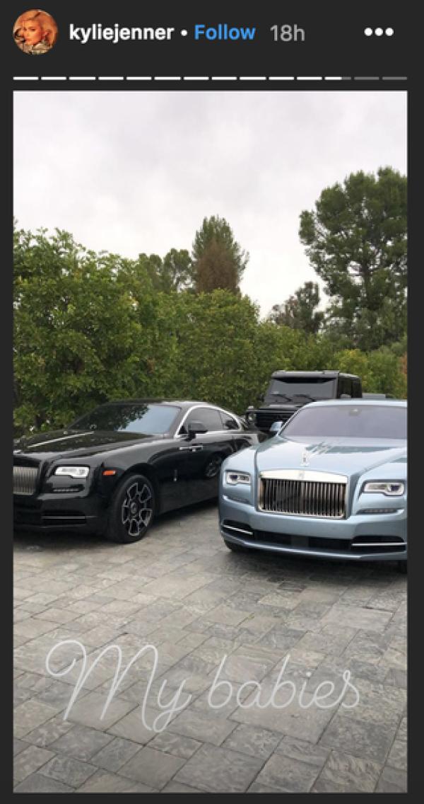 Kylie colección de coches