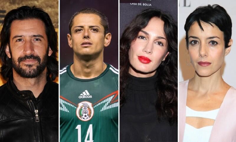 Estos famosos simpatizaron con el movimiento en pro de los 43 estudiantes desaparecidos.